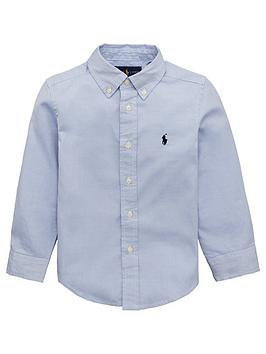 Ralph Lauren Ralph Lauren Boys Custom Fit Classic Oxford Shirt - Blue Picture