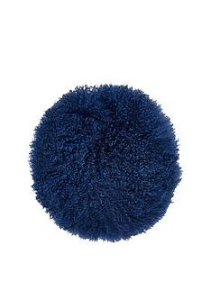 river-island-round-mongolian-cushion-in-navy