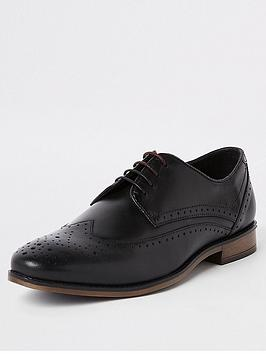 River Island River Island Roger Leather Brogue Picture