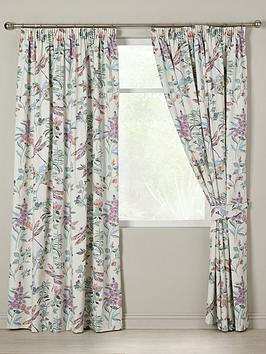 dragonfly-pleated-lined-curtains