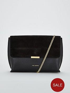 ted-baker-lisa-suede-bar-detail-cross-body-bag-black