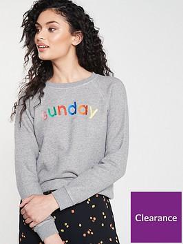 whistles-sunday-sweatshirt-grey-marl