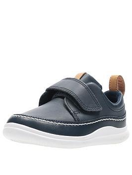 Clarks Clarks Crest Ember Toddler Strap Shoes Picture