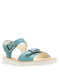 7ccdd8603002 Clarks Crown Bloom Sandal - Teal