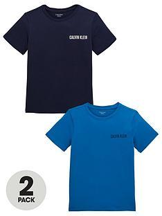 calvin-klein-boys-2-pack-lounge-t-shirts-navyblue