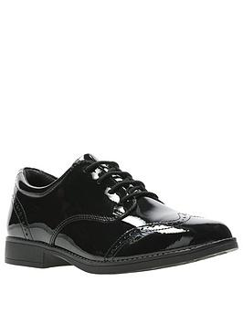 Clarks Clarks Sami Walk School Shoes - Black Picture