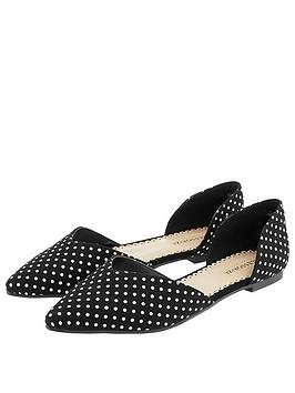 accessorize-knightsbridge-dotty-two-part-pointed-shoes-black