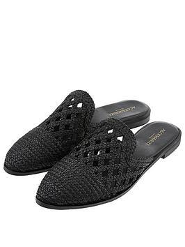 accessorize-finchley-woven-mules-black