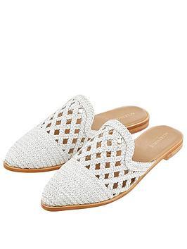 accessorize-finchley-woven-mules-white