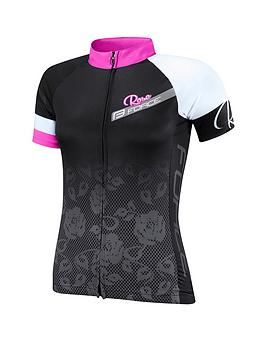 force-rose-ladies-cycling-jersey-blackpink