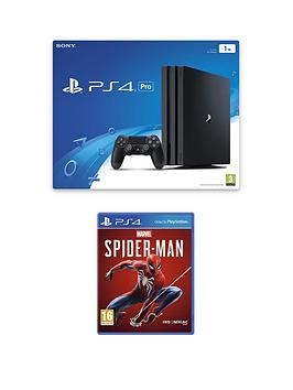 PlayStation 4 Pro Playstation 4 Pro 1Tb Ps4 Pro Bundle With Marvel'S  ... Picture
