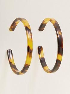 mango-hoop-earrings--nbsptortoiseshellnbsp