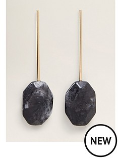 mango-drop-stone-earrings-charcoal