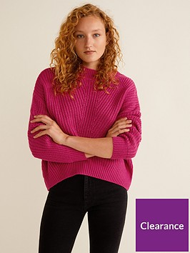 mango-knitted-jumper-pink