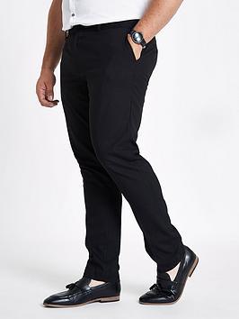 river-island-big-tall-skinny-black-trousers