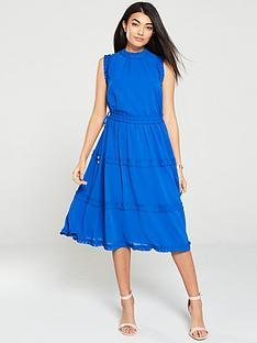 ted-baker-sinita-tie-waist-midi-dress-blue