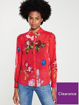 ted-baker-eevilin-berry-sundae-printed-shirt-red
