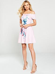 ted-baker-sirenta-bardot-skater-dress--nbsplight-pink