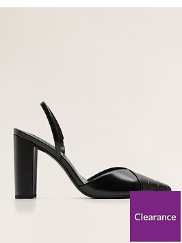 mango-faux-croc-pointed-block-heel-shoes-black
