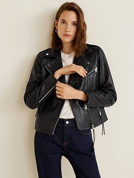 mango-esther-leather-jacket-black