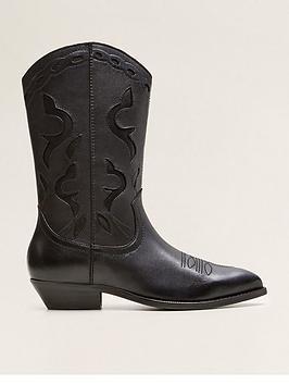 mango-nancy-cowboy-leather-boots-black