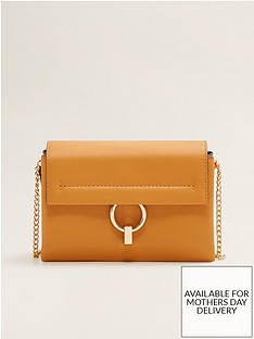 Mango Ring Detail PU Bag 69a56bb7bbfb9