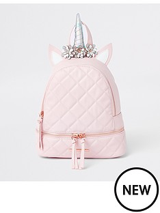 river-island-girls-pink-unicorn-backpack