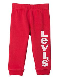 levis-baby-boys-logo-cuffed-joggers-red