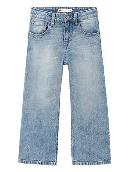 Levi's Levi'S Girls Flared Crop Jeans - Indigo Picture