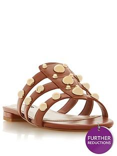 dune-london-wide-fit-nell-flat-sandal-tan