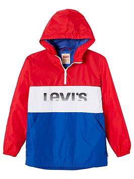 levis-boys-popover-hooded-windcheater-red