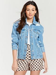 michelle-keegan-ripped-detail-denim-jacket-blue-wash