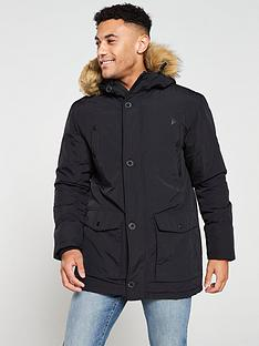 v-by-very-faux-fur-trim-parka-jacket-black