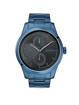 hugo-hugo-discover-grey-multi-dial-blue-ip-stainless-steel-bracelet-mens-watch