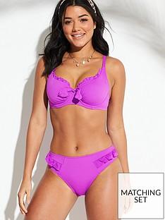 pour-moi-getaway-frill-bikini-brief-violet