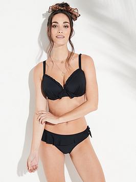 Pour Moi Pour Moi Splash Padded Underwired Bikini Top - Black Picture