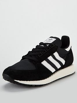adidas-originals-forest-grove-blackwhite