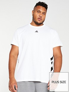 adidas-plus-size-3-stripe-t-shirt