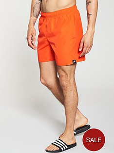 adidas-solid-swim-short-orange