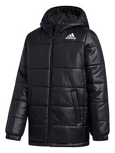 adidas-youth-synthetic-jacket-blackwhite