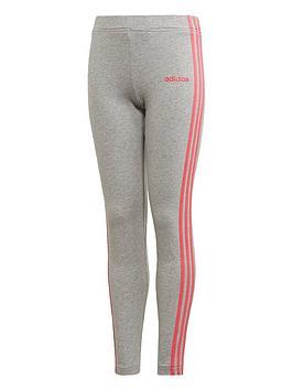 adidas-youth-3-stripe-leggings-greypink