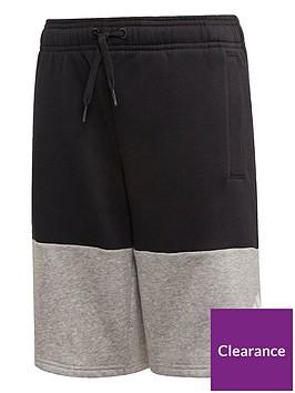 adidas-youth-sport-id-shorts-blackgrey