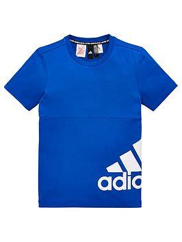 adidas-youth-badge-of-sport-side-logo-t-shirt-bluewhite