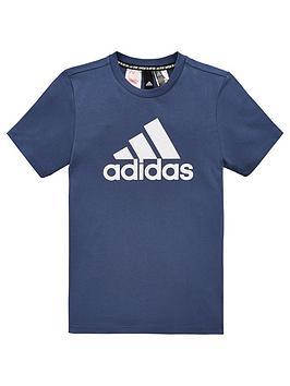 adidas-youth-badge-of-sport-short-sleeve-t-shirt-navywhite