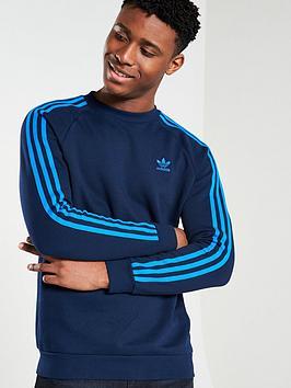 adidas-originals-3-stripe-crew-neck-sweat-navy