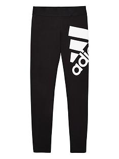 adidas-youth-badge-of-sport-leggings-blackwhite