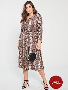 v-by-very-curve-v-neck-jersey-midi-dress-snake-print