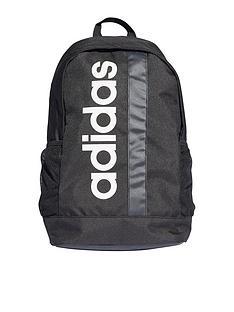 adidas-linear-logo-core-backpack-black