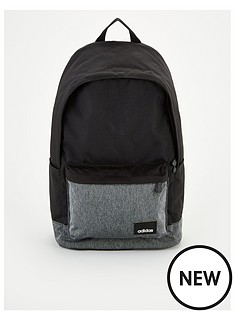 adidas-linear-logo-classic-backpack-black