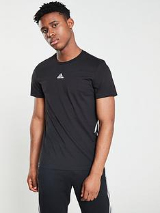 adidas-3-stripe-t-shirt-black